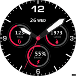 08 Thor 5 Watch Face