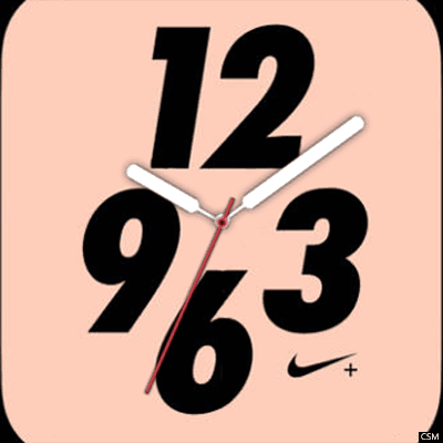129 A (NIKE) Android Watch Face