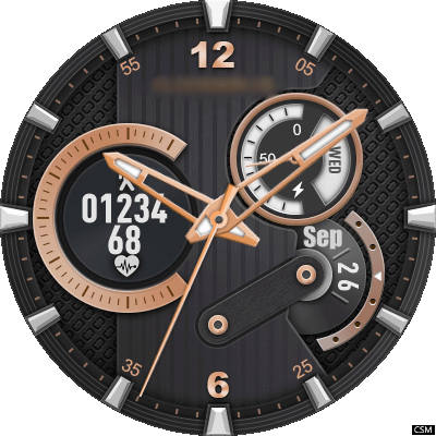 209 Flyer Android Watch Face