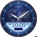 262 Time Zone Watch Face