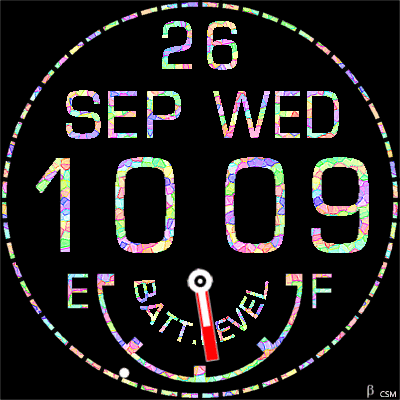 272S Android Watch Face