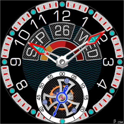 282S_3 Android Watch Face