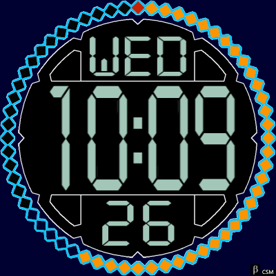 338S Android Watch Face