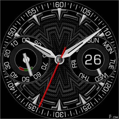354 Android Watch Face