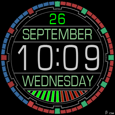 366S Android Watch Face