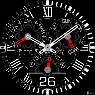 370S Android Watch Face