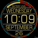 376S_yellow Watch Face