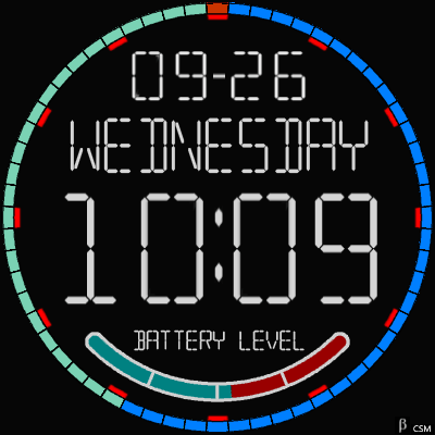 378S Base 3 Android Watch Face