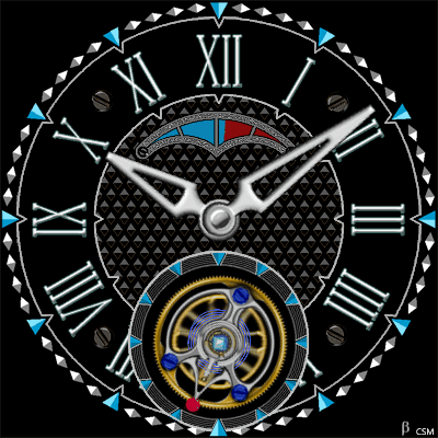 380S Android Watch Face