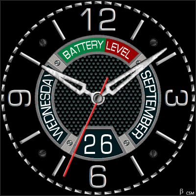 382S Android Watch Face