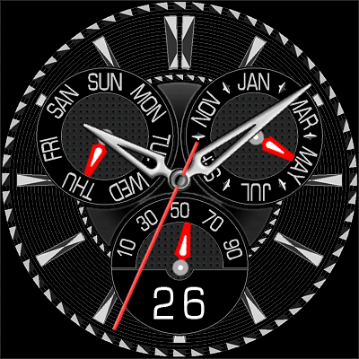 383S Android Watch Face