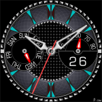 384S Watch Face