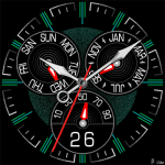 393S Watch Face