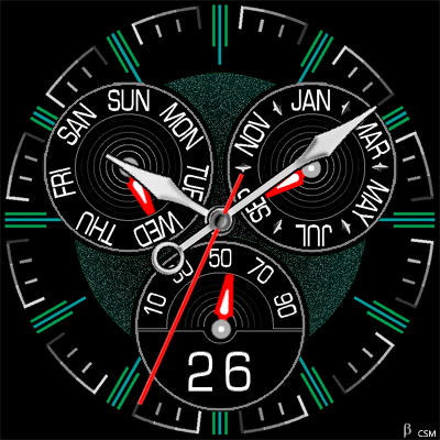393S Android Watch Face