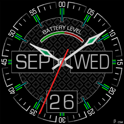 394S Android Watch Face