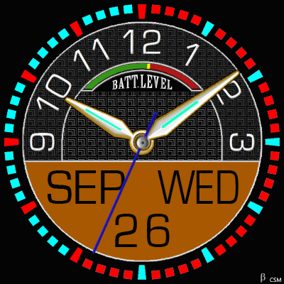 395S Android Watch Face