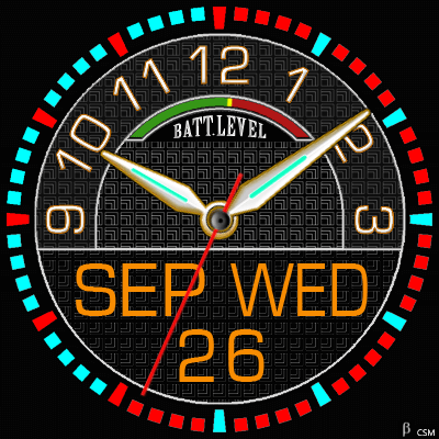 395 2S Android Watch Face