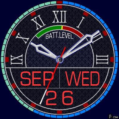 396S Android Watch Face