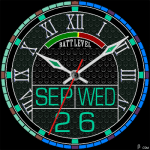 398S Watch Face