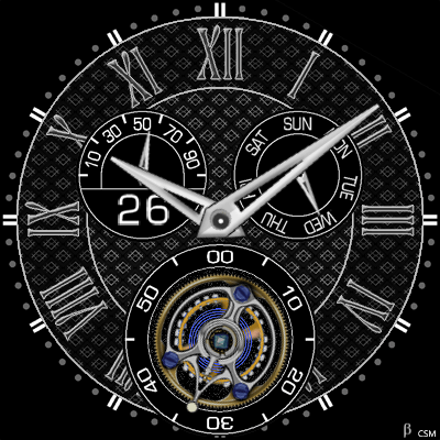 400S Android Watch Face