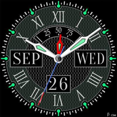 406 S Android Watch Face