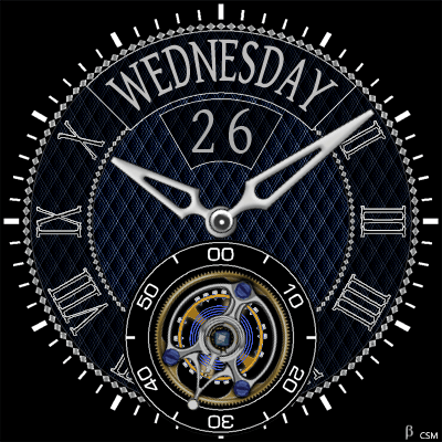 407S Android Watch Face