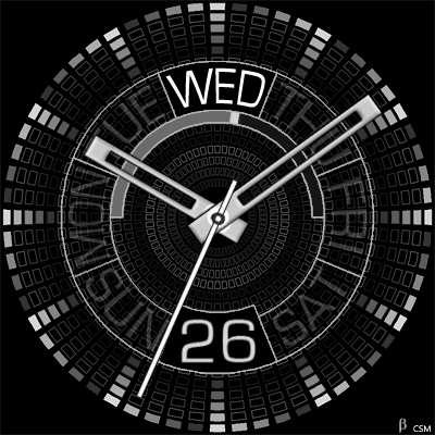 412S Android Watch Face