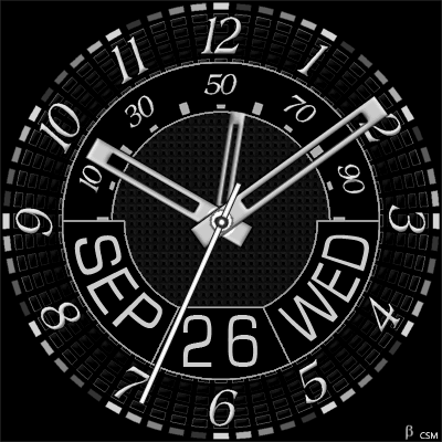 413S Android Watch Face