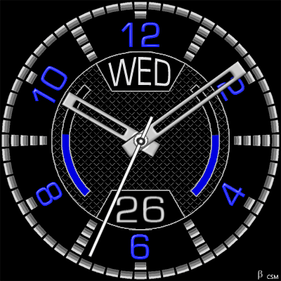 414S Android Watch Face