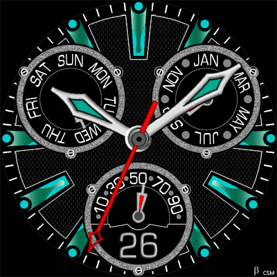 433 S Android Watch Face