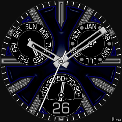 434 S Android Watch Face