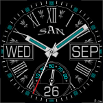 435 S Watch Face