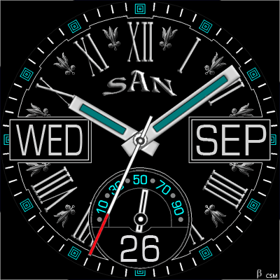435 S Android Watch Face