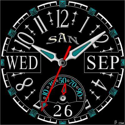 436 S Android Watch Face