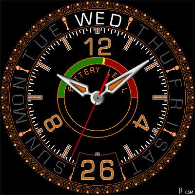 444 S Android Watch Face