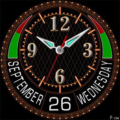 445 S Android Watch Face