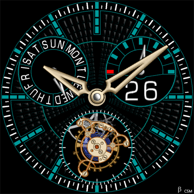 450 S Android Watch Face