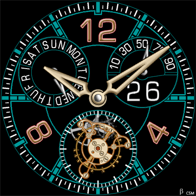 451 S Android Watch Face