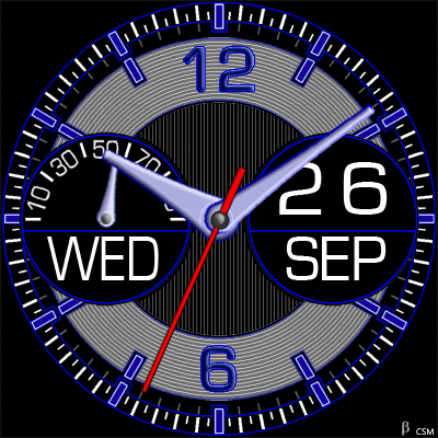 452 S Android Watch Face