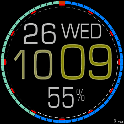454 S Android Watch Face