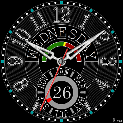 456 S Android Watch Face