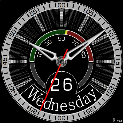 460 S Android Watch Face