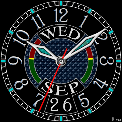 463 S Android Watch Face