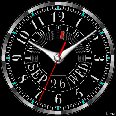 467 S Android Watch Face