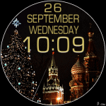 469S NY Watch Face