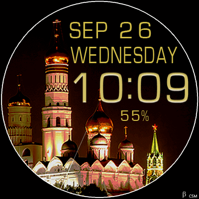 470S Android Watch Face