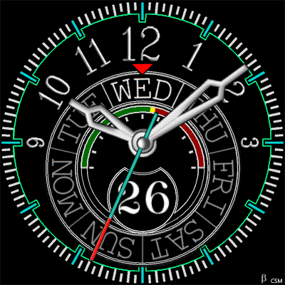 473S Android Watch Face