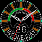476S Watch Face