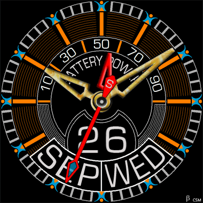 478 2S Android Watch Face
