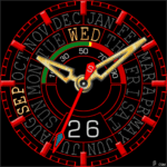 483S Clock Face